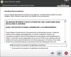 Nokia E50 - Software - Update installeren via PC - Stap 12