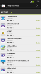 Samsung I9300 Galaxy S III - Applications - MyProximus - Étape 7