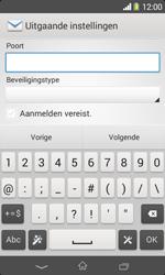 Sony D2005 Xperia E1 - E-mail - Account instellen (IMAP zonder SMTP-verificatie) - Stap 14