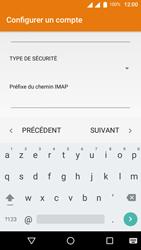Wiko U-Feel Lite - E-mail - Configuration manuelle - Étape 17