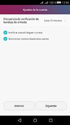 Huawei Y5 II - E-mail - Configurar correo electrónico - Paso 19