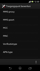 Sony C1905 Xperia M - Internet - buitenland - Stap 14