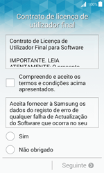 Samsung Galaxy J1 - Primeiros passos - Como ligar o telemóvel pela primeira vez -  6