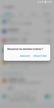 LG V30 - Internet - Désactiver les données mobiles - Étape 5