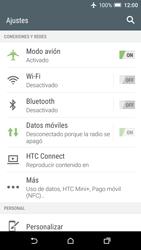 HTC One A9 - Funciones básicas - Activar o desactivar el modo avión - Paso 5