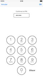 Apple iPhone 6 Plus iOS 8 - Sécuriser votre mobile - Personnaliser le code PIN de votre carte SIM - Étape 11