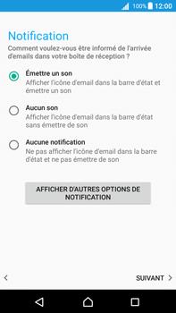 Sony Xperia Z5 Premium (E6853) - Android Nougat - E-mail - Configuration manuelle - Étape 21