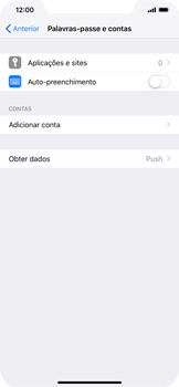 Apple iPhone XS Max - Email - Configurar a conta de Email -  5
