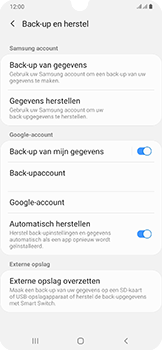 Samsung Galaxy A50 - Data - maak een back-up met je account - Stap 7