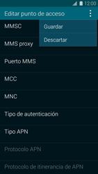 Samsung G900F Galaxy S5 - Mensajería - Configurar el equipo para mensajes multimedia - Paso 15