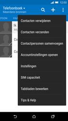 HTC One M9 (Model 0PJA100) - Contacten en data - Contacten kopiëren van toestel naar SIM - Stap 5