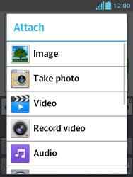 LG E430 Optimus L3 II - MMS - Sending a picture message - Step 12