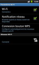 Samsung I9001 Galaxy S Plus - Wifi - configuration manuelle - Étape 8