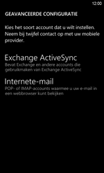HTC Windows Phone 8S - E-mail - Handmatig instellen - Stap 8