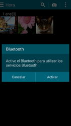 Samsung G900F Galaxy S5 - Bluetooth - Transferir archivos a través de Bluetooth - Paso 10