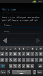 Samsung Galaxy Note 2 - Premiers pas - Créer un compte - Étape 10