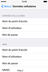 Apple iPhone 4 S iOS 9 - Internet - Configuration manuelle - Étape 6