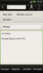 HTC T328e Desire X - E-mail - envoyer un e-mail - Étape 8
