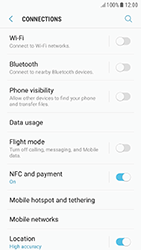 Samsung Galaxy A5 (2017) (A520) - Android Nougat - WiFi and Bluetooth - Setup Bluetooth Pairing - Step 5