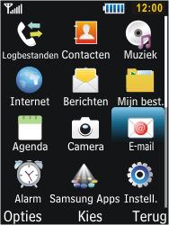 Samsung S5610 Primo - E-mail - e-mail instellen: POP3 - Stap 3