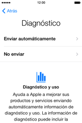 Apple iPhone 4S iOS 7 - Primeros pasos - Activar el equipo - Paso 16