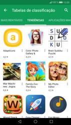 Huawei P9 Lite - Android Nougat - Aplicações - Como pesquisar e instalar aplicações -  9