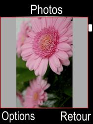 Doro Phone Easy 612 - Photos, vidéos, musique - Envoyer une photo via Bluetooth - Étape 4