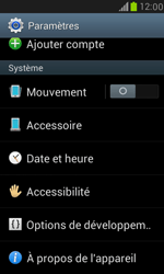 Samsung I8190 Galaxy S III Mini - Appareil - Mises à jour - Étape 5