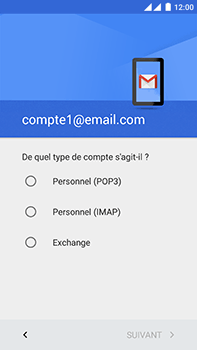 OnePlus 2 - E-mail - Configuration manuelle - Étape 11