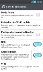 LG Optimus L5 II - Internet et connexion - Partager votre connexion en Wi-Fi - Étape 5