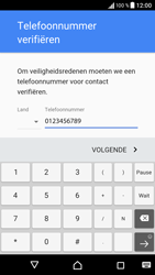 Sony Xperia X (F5121) - Applicaties - Account aanmaken - Stap 8