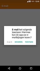Crosscall Action X3 - E-mail - e-mail instellen (outlook) - Stap 6