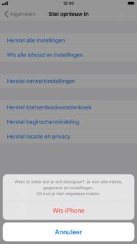 Apple iphone-8-plus-met-ios-13-model-a1897 - Instellingen aanpassen - Fabrieksinstellingen terugzetten - Stap 7