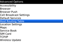 BlackBerry 9300 Curve 3G - Settings - Configuration message received - Step 5