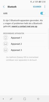 Samsung Galaxy S9 - Bluetooth - headset, carkit verbinding - Stap 7