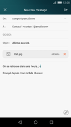 Huawei P8 Lite - E-mail - Envoi d