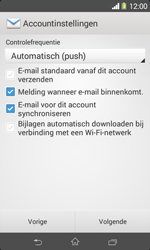 Sony D2005 Xperia E1 - E-mail - Handmatig instellen - Stap 16