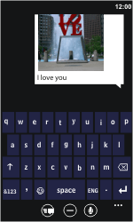 Nokia Lumia 710 - MMS - Sending a picture message - Step 9