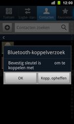 Samsung I9100 Galaxy S II - Contactgegevens overzetten - delen via Bluetooth - Stap 9