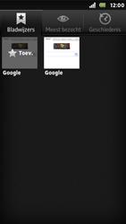 Sony ST25i Xperia U - Internet - Internet gebruiken - Stap 8