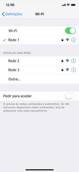 Apple iPhone XS - Wi-Fi - Como ligar a uma rede Wi-Fi -  7