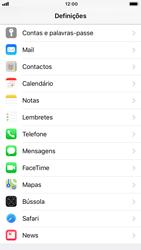 Apple iPhone 8 - Aplicações - Como gerir permissões da aplicação -  3