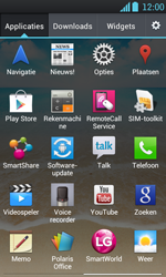 LG P700 Optimus L7 - Netwerk - Handmatig netwerk selecteren - Stap 6