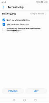 Huawei P20 Pro - E-mail - Manual configuration (yahoo) - Step 7
