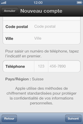 Apple iPhone 4 S - Applications - Créer un compte - Étape 16