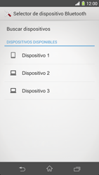 Sony Xperia Z1 - Bluetooth - Transferir archivos a través de Bluetooth - Paso 11