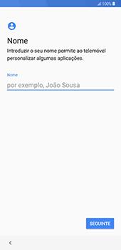 Samsung Galaxy Note 8 - Android Oreo - Primeiros passos - Como ligar o telemóvel pela primeira vez -  11