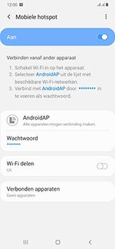 Samsung Galaxy A50 - Internet - mijn data verbinding delen - Stap 12