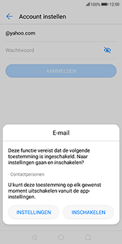Huawei Mate 10 Lite (Model RNE-L21) - E-mail - 032b. Email wizard - Yahoo - Stap 6