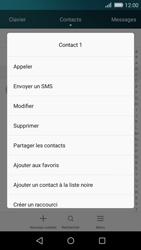 Huawei P8 Lite - Contact, Appels, SMS/MMS - Ajouter un contact - Étape 9